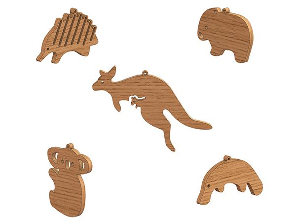 Byrne-Woodware-Australian-Animal-Mobile-1
