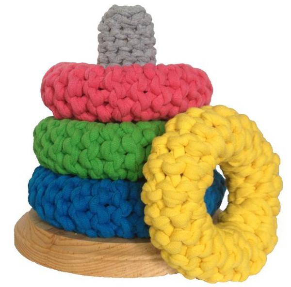LCScoights, crochet stack rings