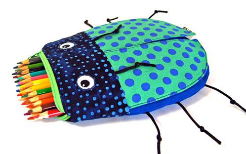 Ladybug pencil case