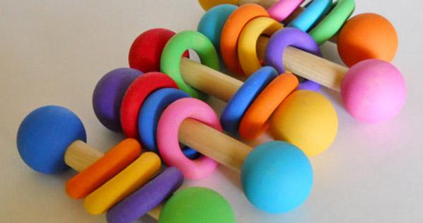 rainbow rattles
