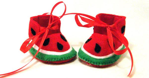 watermelon-booties