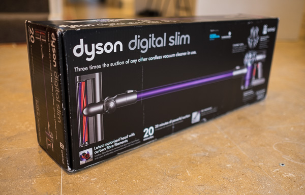 Dyson DC59 Vacuum cleaner in box