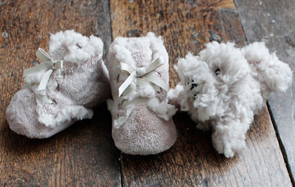Papinelle-baby-taupe-slippers
