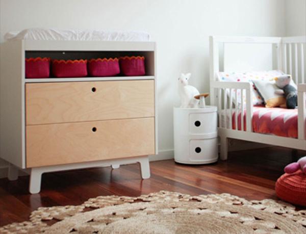 Replica Anna Castelli Ferrieri Componibili Round 2 Retro styled bedside storage with the Matt Blatt Replica Componibili