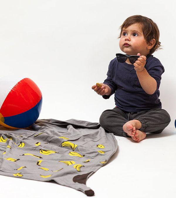 broukheader, banana split blanket