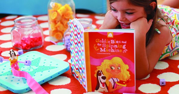 Thinking caps fit just right with GoldieBlox toys
