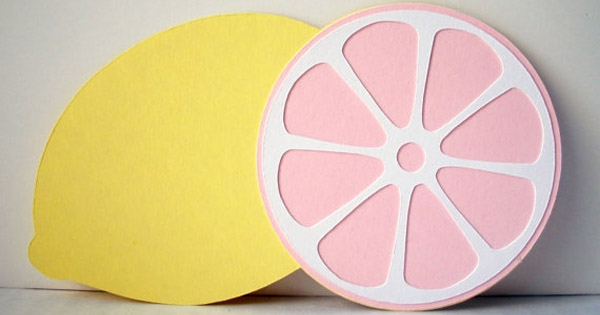 pink lemonade Etsy find of the day   pink lemonade party invitation
