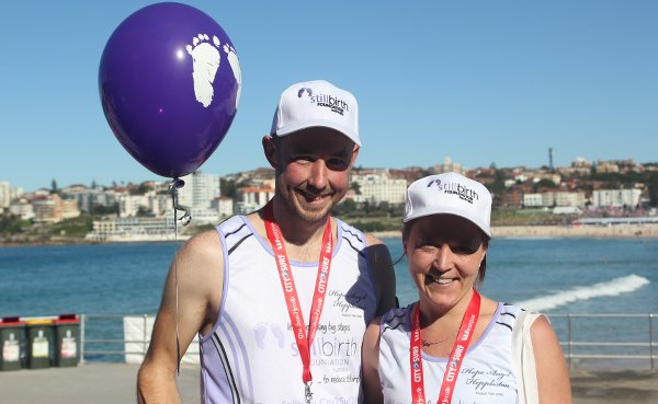 Sally and Simon at City2Surf