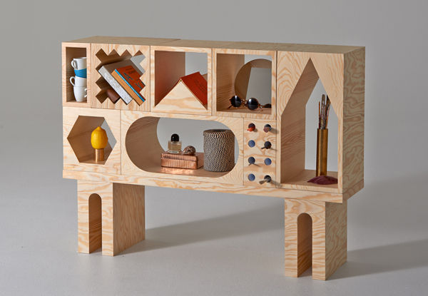 shelvingunit1 Toy sorting made stylish with the Room mix and match shelving system