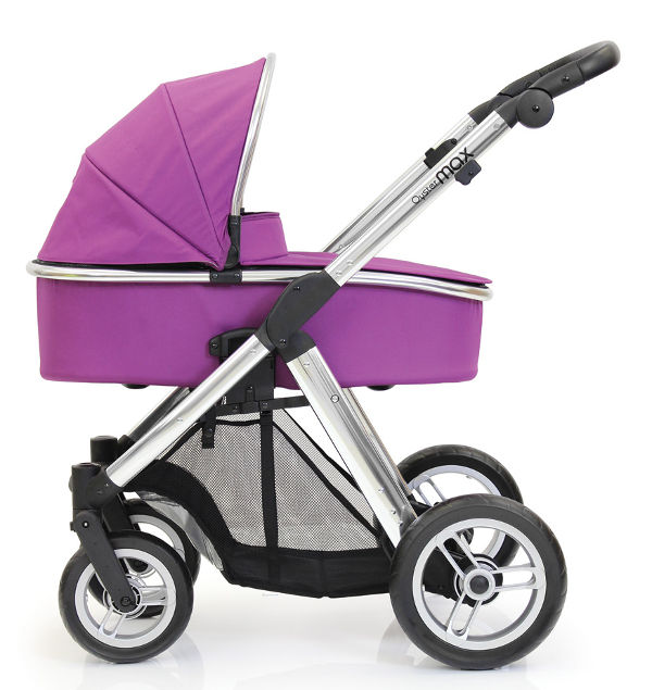 OysterMax-Single-Carrycot-Grape