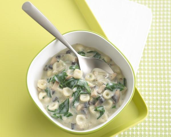 Annabel Karmel app's mushroom pasta recipe