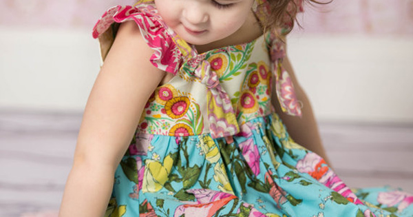 olivia knot dress Etsy find of the day   floral knot dress