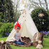 Imaginary play the teepee way from Moozle