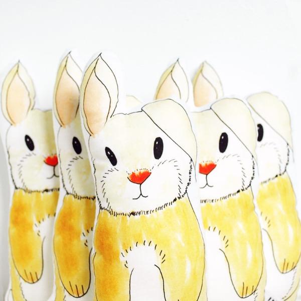 Rebecca Kiff AW14 bunnies