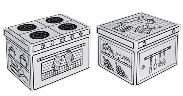 Villa Carton Storage Box Kitchen blank