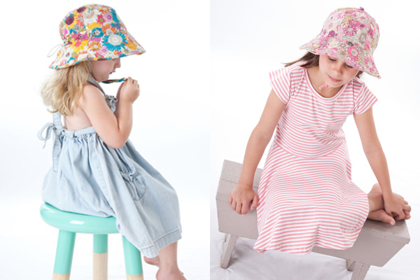 baby and child sun hats