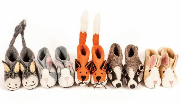 animal-slippers