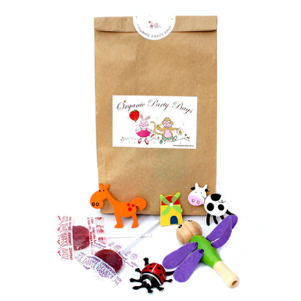 organic party bags