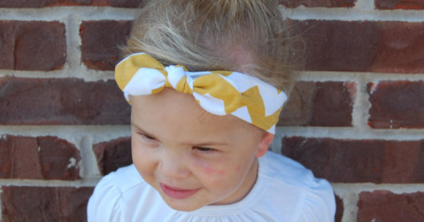chevron-headband