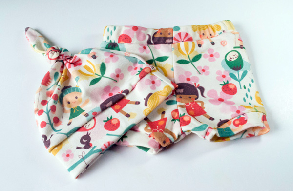 The Line baby bloomer set