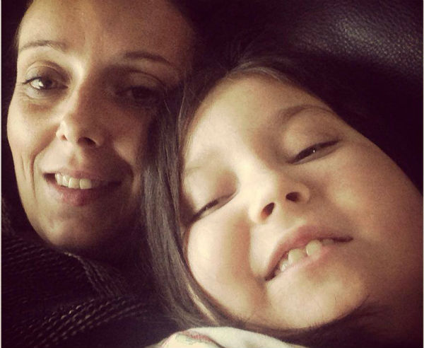 Evie Kean and her mother