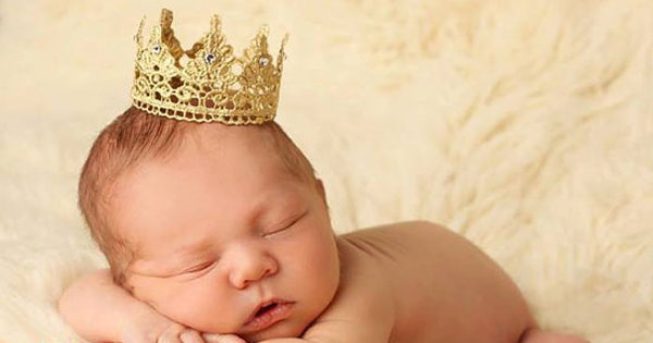 gold crown Etsy find of the day   gold lace crown baby photo prop
