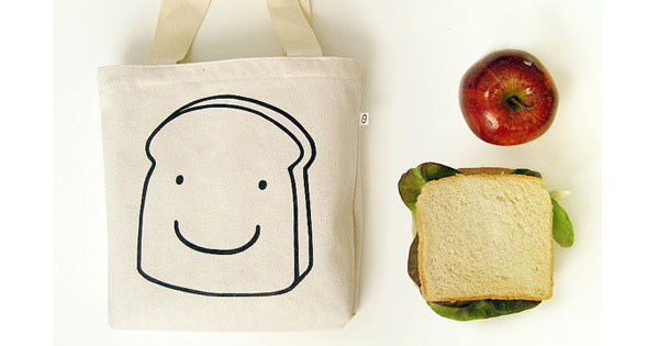 sandwich bag 1 Etsy find of the day   canvas sandwich bag