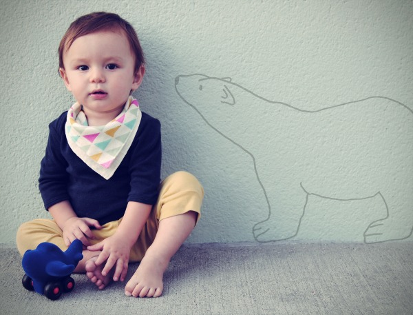 Kishu baby 1 Kishu bibs – reversible bandana bibs that get the balance of function and fashion