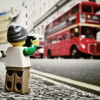 Tour the world with the Lego Minifig Photographer!
