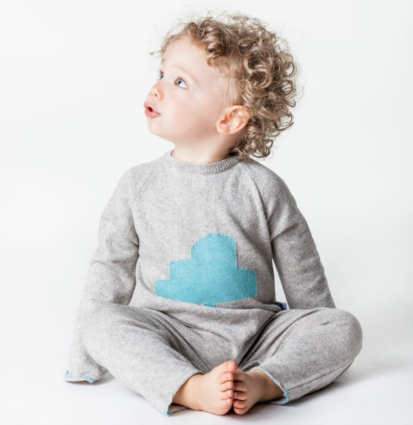 Nuvola Baby cloud collection play suit