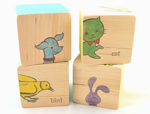 animal blocks Stylish stacking   timeless wooden puzzle blocks by Stacy Wong