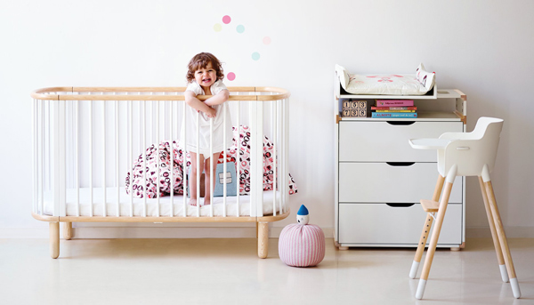 Flexa cots bunks and children 39 s furniture simple for Flexa high chair