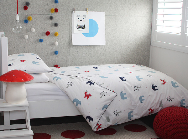 forest friends lifestyle3 Childrens bedding from Jacob & Bonomi thats hot off the linen press!