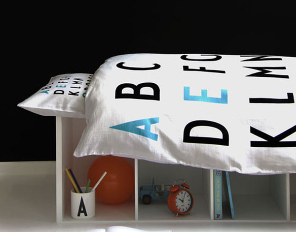 Arne Jacobsen junior bedding Design Letters