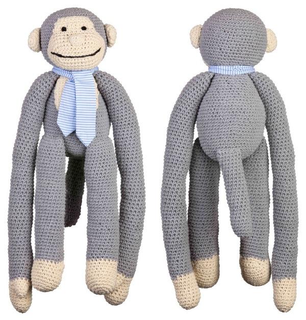 lah de dah crocheted monkey