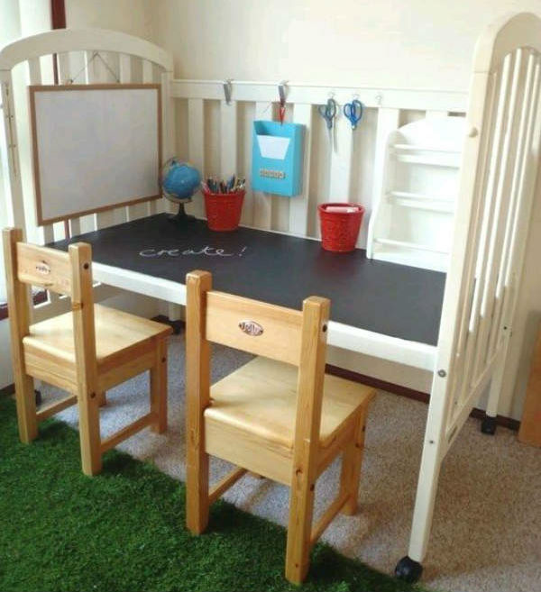 Creative ways to upcycle your baby s cot