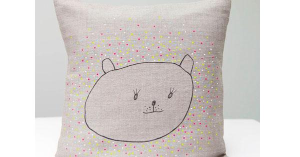 neon pillow