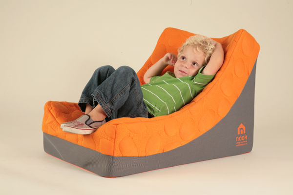 nook1 The Nook Pebble Lounger   stylish comfort for the kids