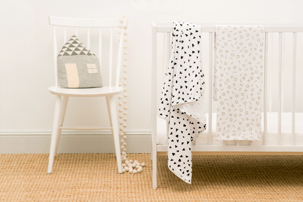 Kitty and Sparrow organic cotton blankets