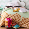 Delicious kids' bedding from Sack Me