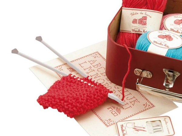 sewingkit Keep little hands busy with the Moulin Roty kids sewing kit