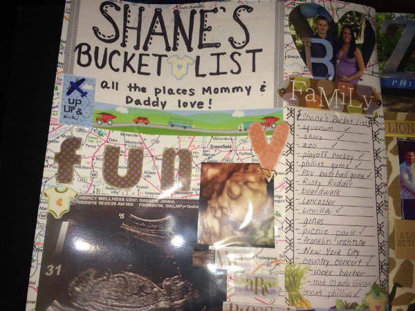 shane haley bucket list