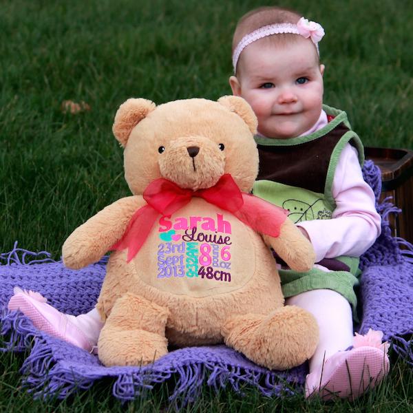 Kembroid personalised teddy bear