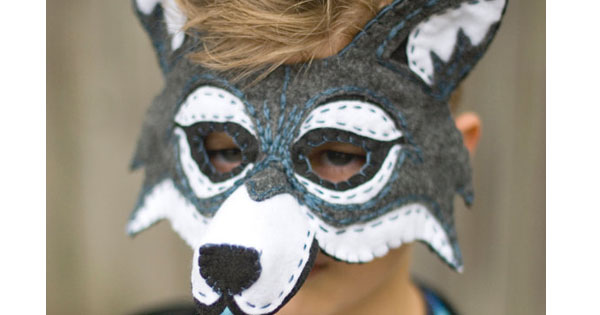 wolf2 Etsy find of the day   wolf mask