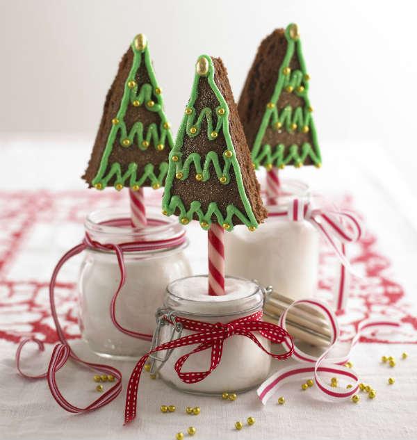 Chocolate Cake Christmas Tree