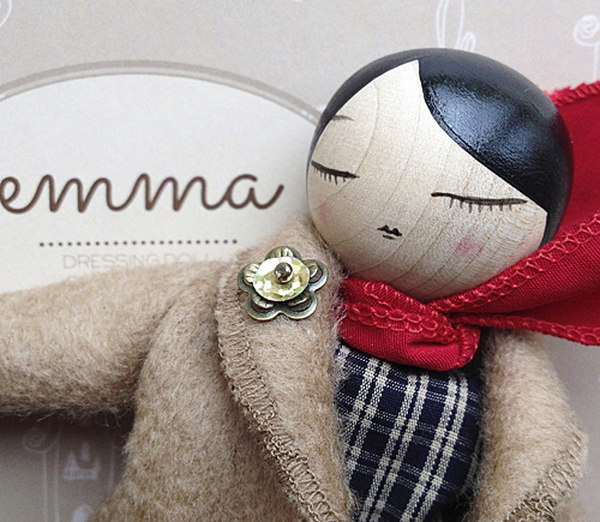 EMMA doll 500 5 Beautiful limited edition Emma Doll is a toy to keep forever