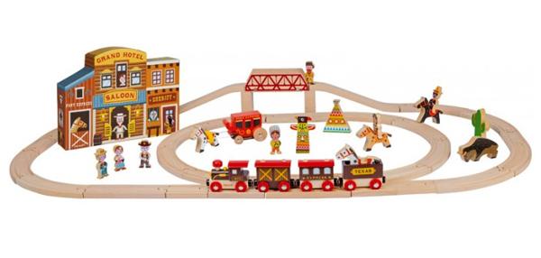 Janod-Wild-West-train-set