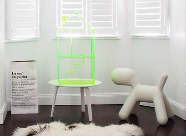 Mint Rhapsody neon Attic House
