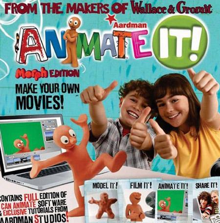 morph animation kit for kids