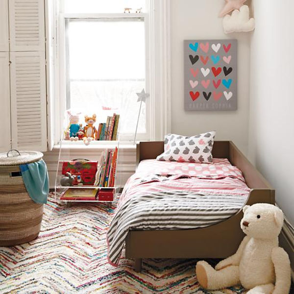 The Hampshire Toddler Bed Clean Lines And Contemporary Design